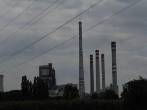 Elektrárna Mělník za Dolními Beřkovicemi-foto pro ekologa